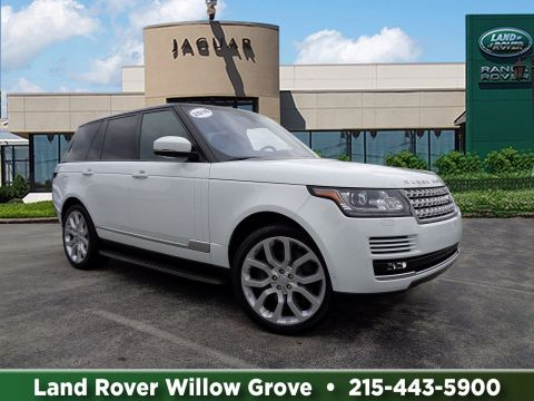 Certified Pre-Owned 2016 Land Rover Range Rover HSE With Navigation & 4WD