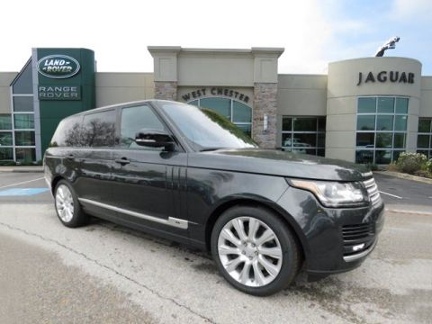 Certified Pre-Owned 2017 Land Rover Range Rover 5.0L V8 Supercharged With Navigation & 4WD