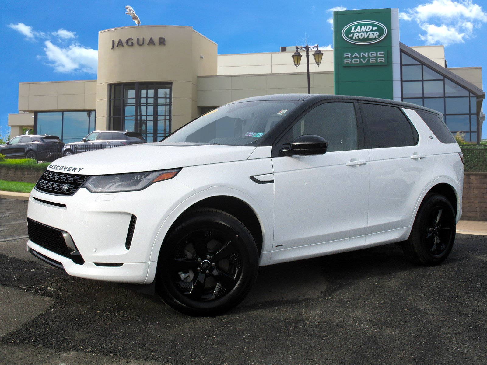 Certified Pre-Owned 2020 Land Rover Discovery Sport S R-Dynamic