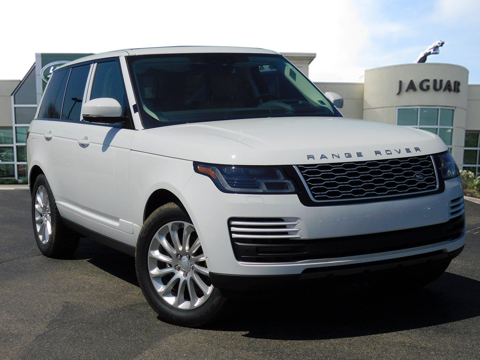 New 2018 Land Rover Range Rover HSE 4WD