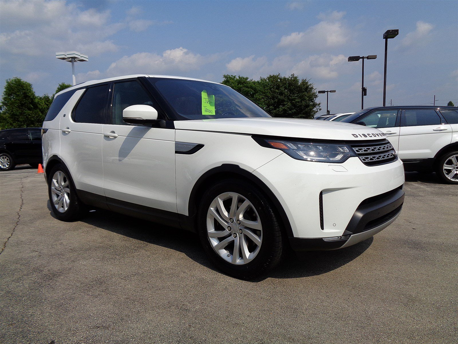 Certified Pre-Owned 2017 Land Rover Discovery HSE Four Wheel Drive Sport Utility