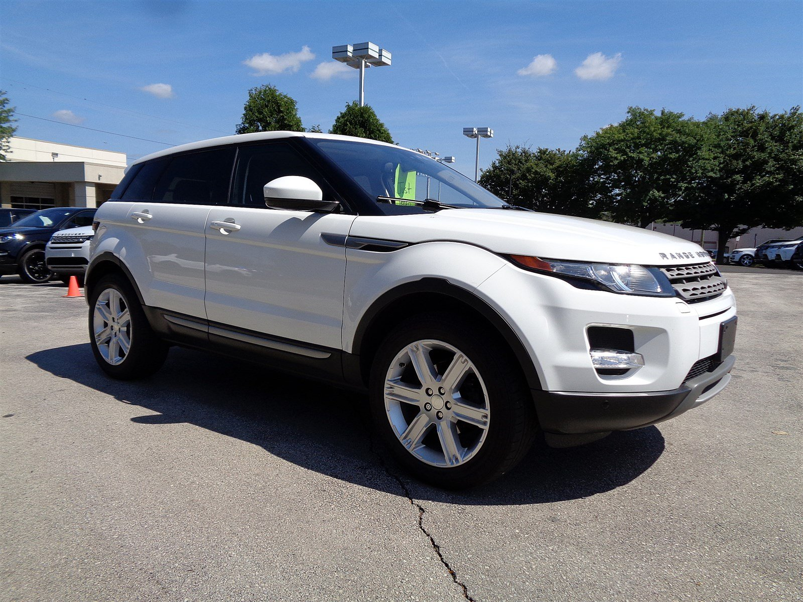 Certified Pre-Owned 2014 Land Rover Range Rover Evoque Pure Plus Four Wheel Drive Sport Utility