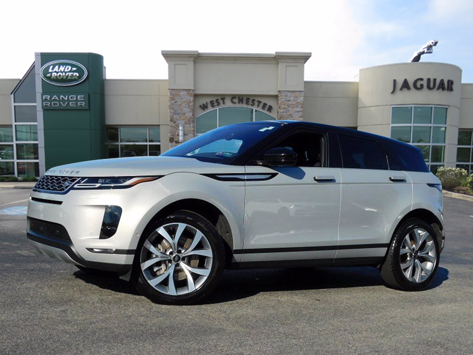 Certified Pre-Owned 2020 Land Rover Range Rover Evoque SE With Navigation & AWD